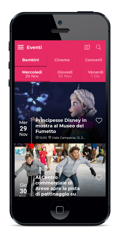 Mobile apps for Events and Festivals