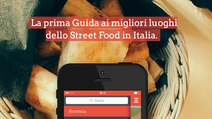 Arriva Rosteria, street food in Italia