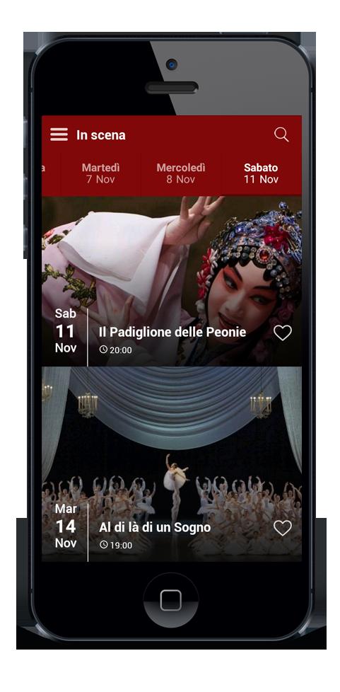 App mobile per eventi