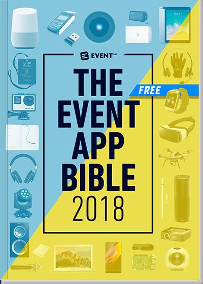 The Event App Bible 2018: la guida alle migliori app per eventi